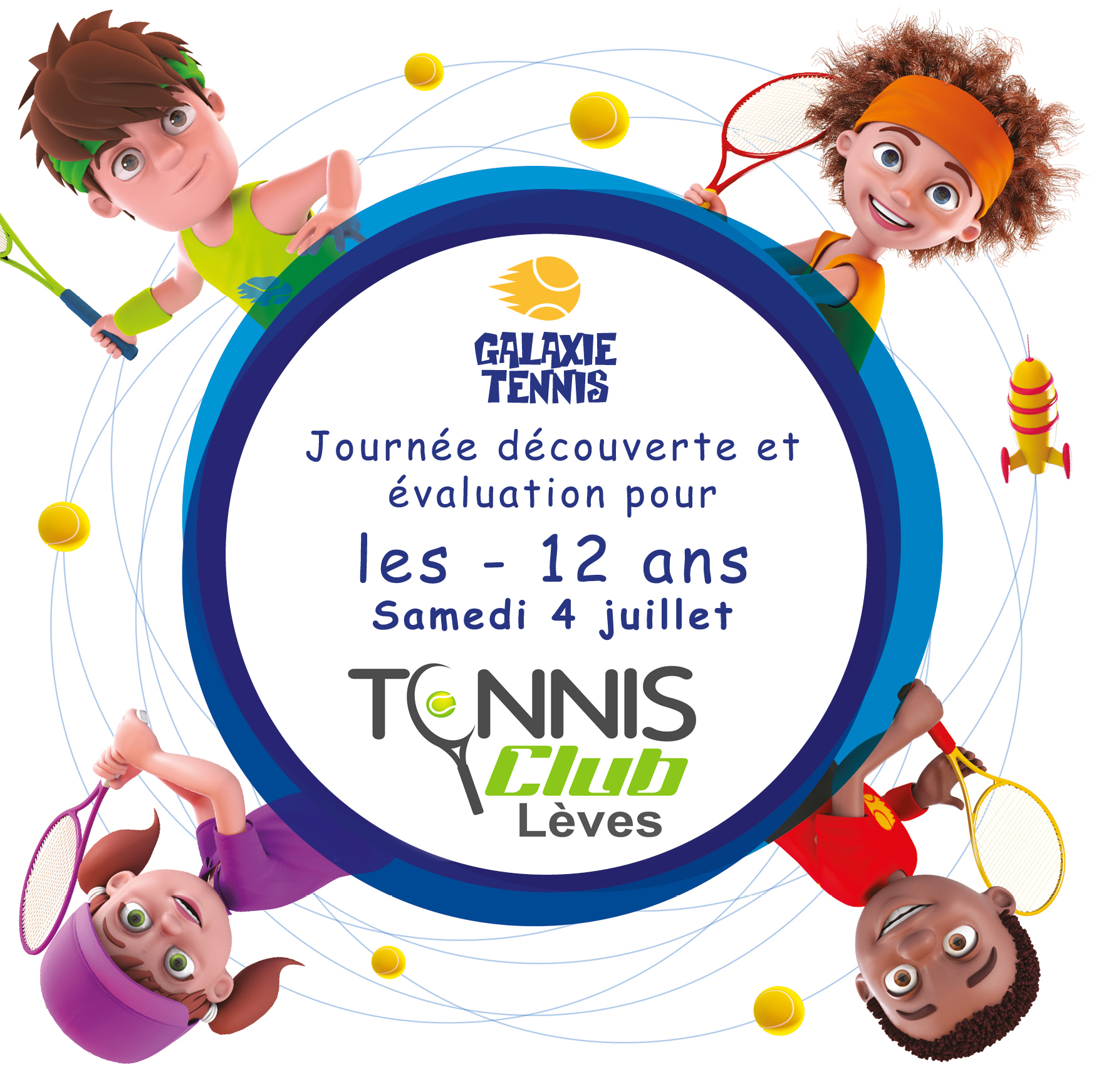4 juillet Galaxie tennis