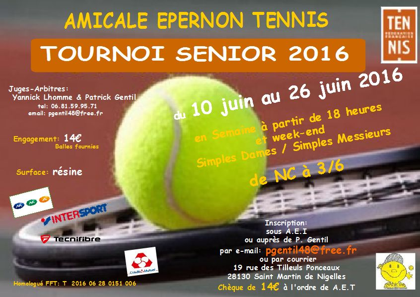 open tournoi senior 2016